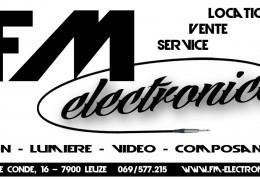 FM electronics: logo