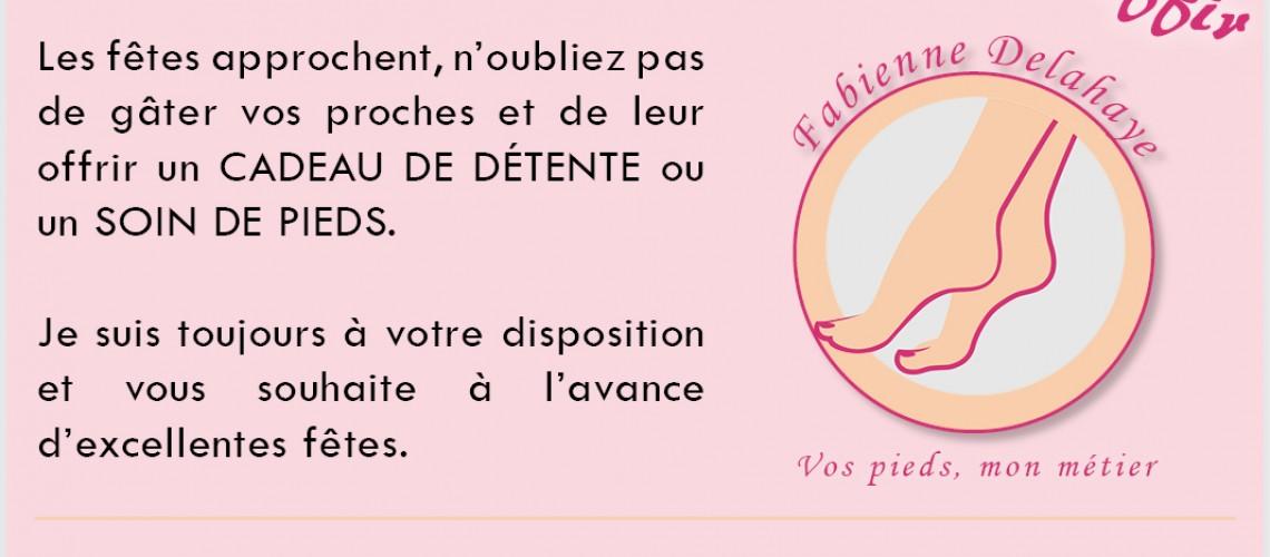 Fabienne Delahaye pédicure médicale: Publicité