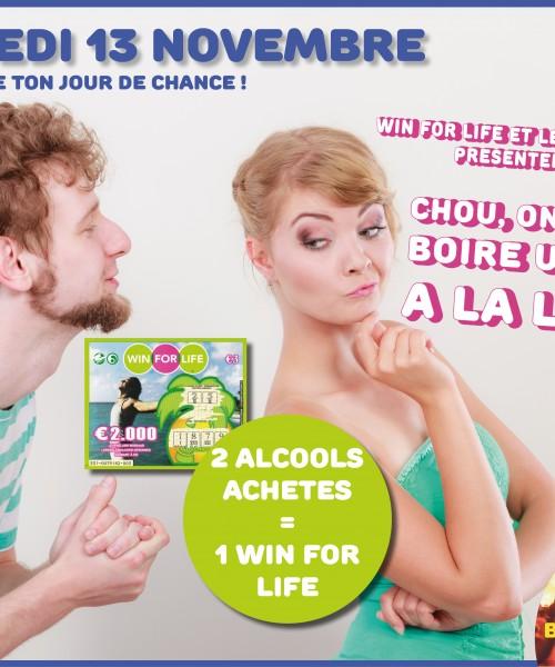 Café Loco: événement Win For Live