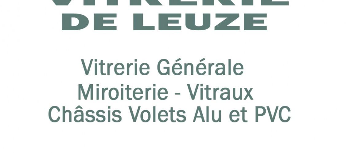 Vitrerie de Leuze: Digitalisation du logo