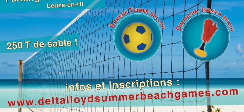 Affiche du Delta Lloyd Summer Beach Games 2015